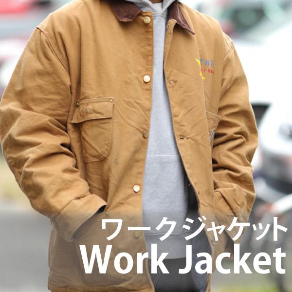 メンズピックアップアイテム ワークジャケット